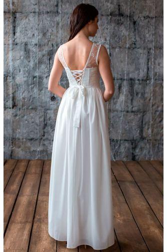 Нежное свадебное платье в Киеве - Фото 4