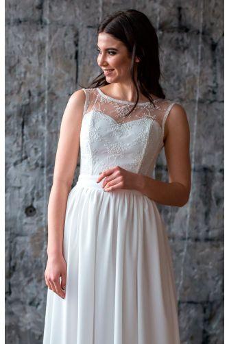 Нежное свадебное платье в Киеве - Фото 2