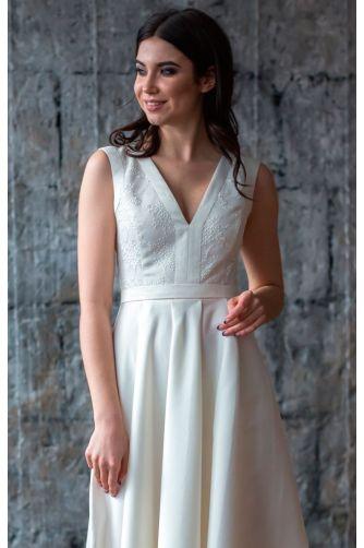 Платье А силуэта свадебное в Киеве - Фото 2