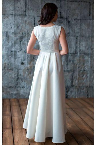 Платье А силуэта свадебное в Киеве - Фото 3