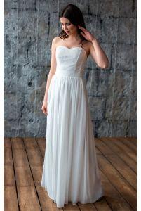Простое свадебное платье фото