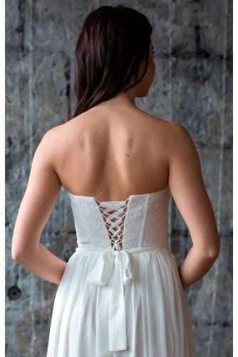Простое свадебное платье в Киеве - Фото 4