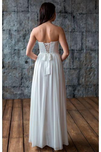 Простое свадебное платье в Киеве - Фото 3
