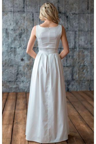 Прямое свадебное платье в Киеве - Фото 3