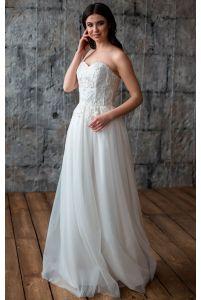 Шикарное свадебное платье фото