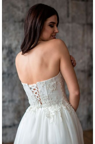 Шикарное свадебное платье в Киеве - Фото 3