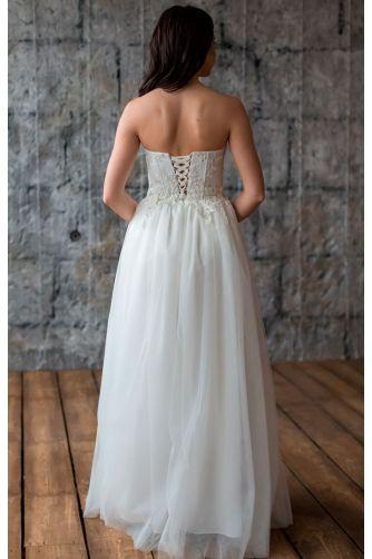 Шикарное свадебное платье в Киеве - Фото 4