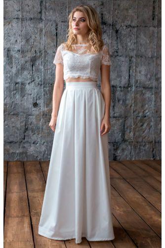 Стильное свадебное платье в Киеве - Фото 1