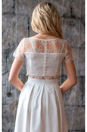 Стильное свадебное платье в Киеве - Фото 2
