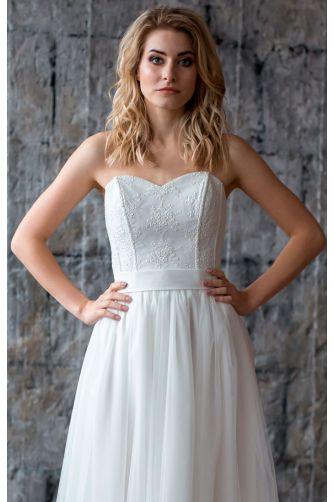 Свадебное платье с корсетом в Киеве - Фото 2