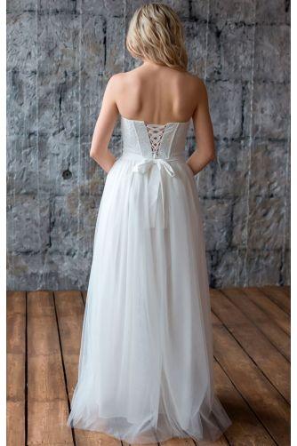 Свадебное платье с корсетом в Киеве - Фото 4