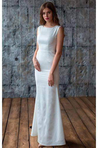 Свадебное платье с кружевной спиной в Киеве - Фото 1