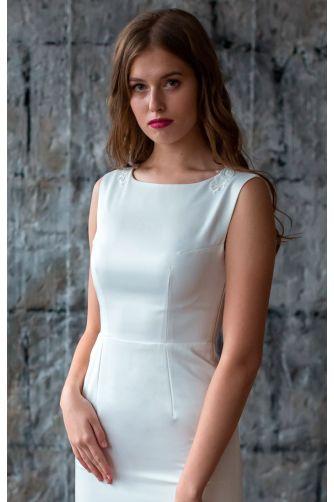 Свадебное платье с кружевной спиной в Киеве - Фото 2