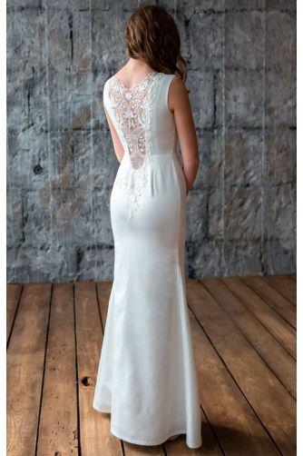 Свадебное платье с кружевной спиной в Киеве - Фото 4