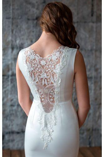 Свадебное платье с кружевной спиной в Киеве - Фото 3