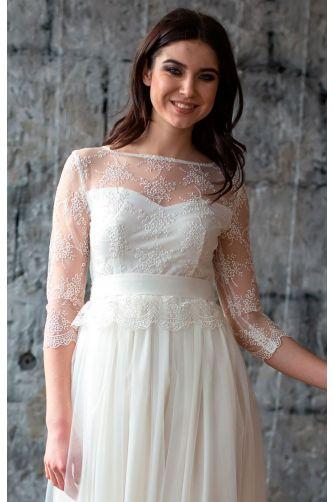 Свадебное платье с кружевом в Киеве - Фото 2