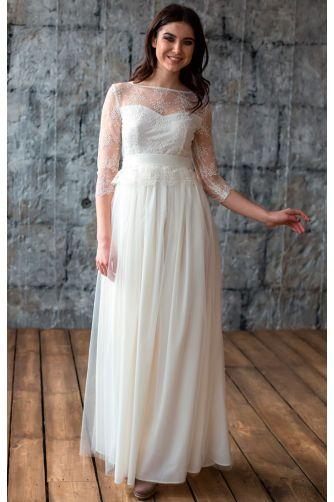 Свадебное платье с кружевом в Киеве - Фото 3