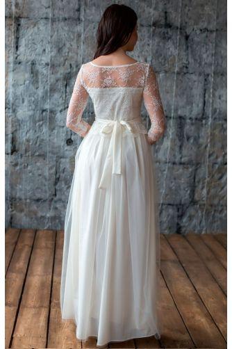 Свадебное платье с кружевом в Киеве - Фото 4