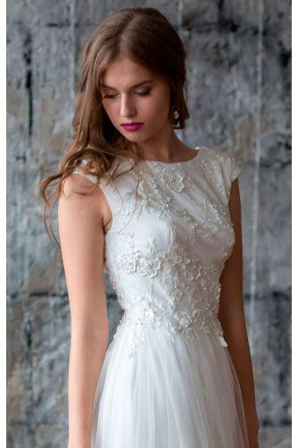 Свадебное платье с открытой спиной в Киеве - Фото 2