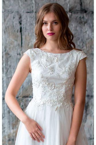 Свадебное платье с открытой спиной в Киеве - Фото 4