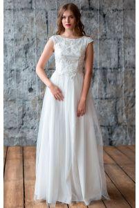 Свадебное платье с открытой спиной фото