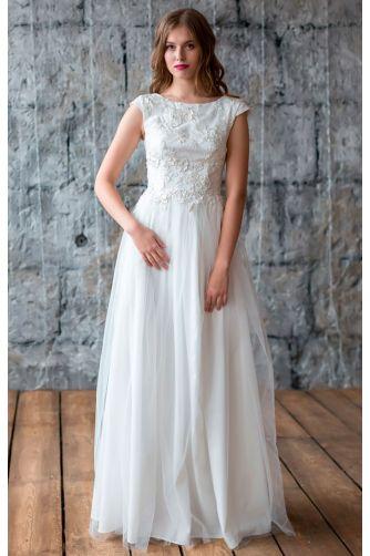 Свадебное платье с открытой спиной в Киеве - Фото 1