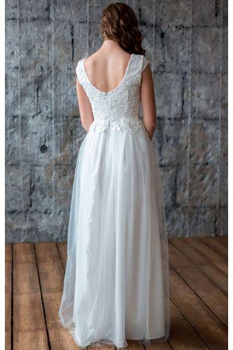 Свадебное платье с открытой спиной в Киеве - Фото 5