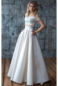 Свадебный комплект топ и юбка фото