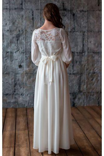 Закрытое свадебное платье в Киеве - Фото 4