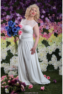 Свадебное платье большого размера фото