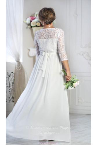 Белое платье с рукавом в Киеве - Фото 2
