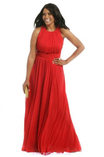 Красное платье большого размера в Киеве - Фото 1