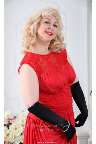 Платье в пол для полных в Киеве - Фото 4
