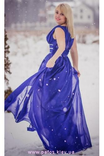 Синее платье большого размера в Киеве - Фото 2