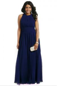 Темно синее платье большого размера фото