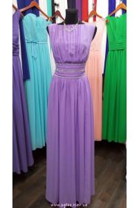Сиреневое вечернее платья фото