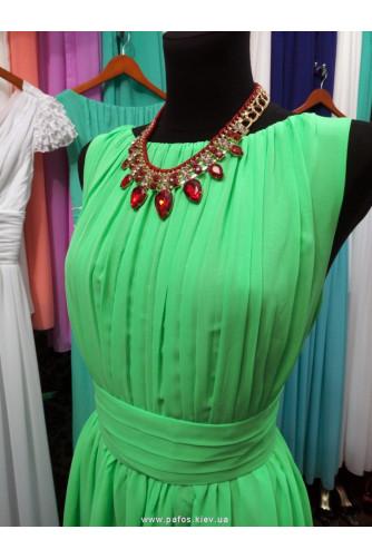 Ярко зелёное платье в Киеве - Фото 2