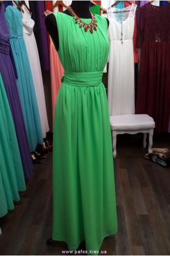 Ярко зелёное платье в Киеве - Фото 1