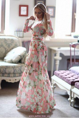 Платье в цветочек купить украина