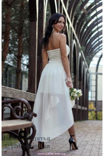 Свадебное платье короткое купить (Киев)   Интернет магазин Пафос 6ab43432706