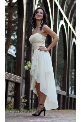 Короткое свадебное платье в Киеве - Фото 2