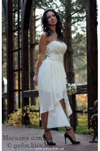 Короткое свадебное платье в Киеве - Фото 3