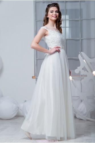 Белое платье невесты в Киеве - Фото 1