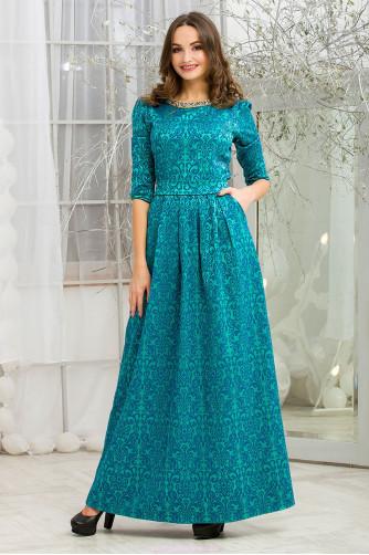 4cdc6b99924ed22 Платье на новый год. Купить бирюзовое платье в пол в Украине в ...