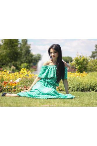 Модное платье в горошек в Киеве - Фото 4