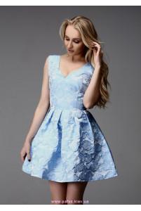 Короткое платье с пышной юбкой фото
