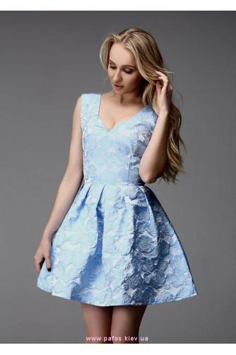Короткое платье с пышной юбкой в Киеве - Фото 1