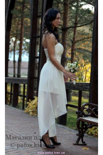 Короткое свадебное платье в Киеве - Фото 5
