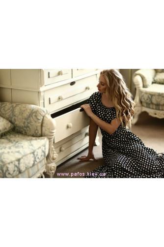 Длинное платье в горошек в Киеве - Фото 3