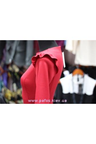 Красное платье офисное в Киеве - Фото 5